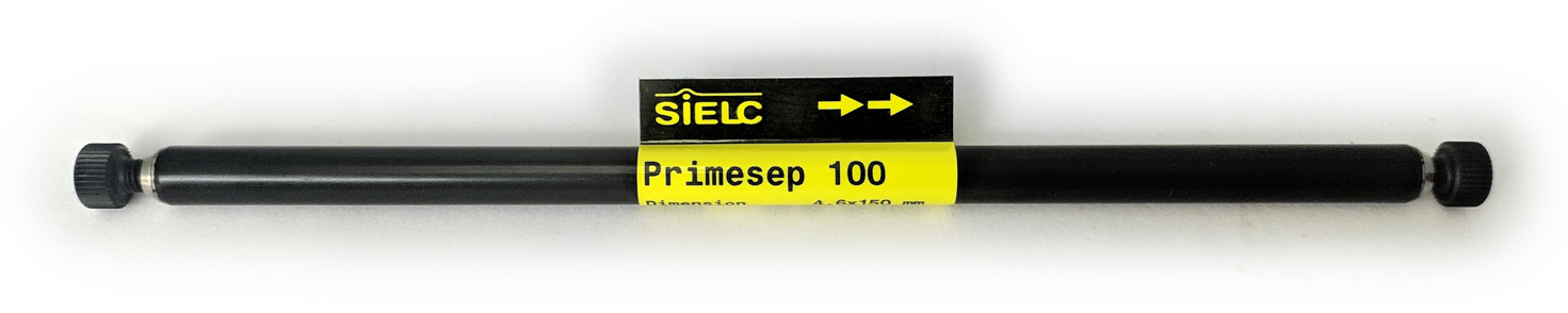 Primesep 100 HPLC column by Sielc