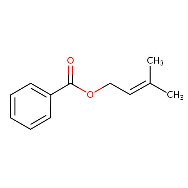 3-Methyl-2-butenyl benzoate | SIELC  Methyl Benzoate Structural Formula