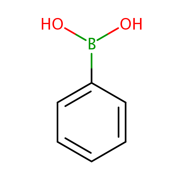 4-(1-naphthyl)phenylboronic acid structural formula