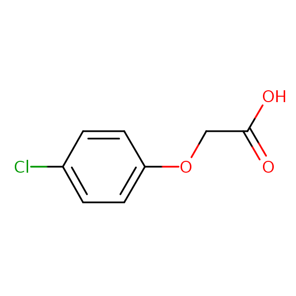 4-CPA structural formula