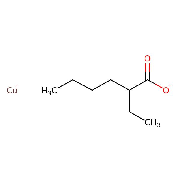 Copper 2-ethylhexanoate (hexanoic acid) | SIELC