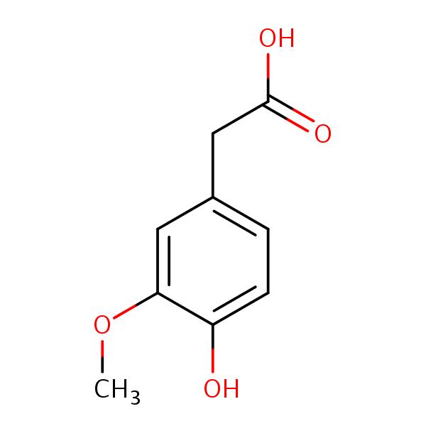Homovanillic Acid structural formula