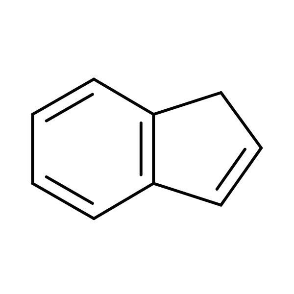 Indene structural formula