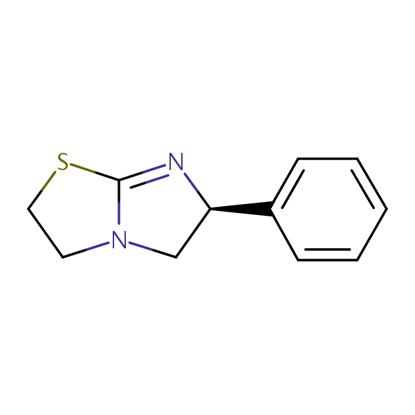 Levamisole structural formula