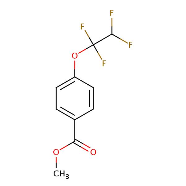 Methyl 4-(1,1,2,2-tetrafluoroethoxy)benzoate | SIELC  Methyl Benzoate Structural Formula