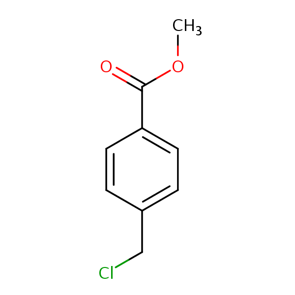 Methyl 4-(chloromethyl)benzoate | SIELC  Methyl Benzoate Structural Formula