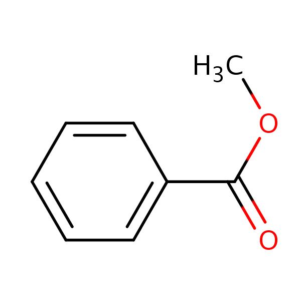 Methyl benzoate | SIELC  Methyl Benzoate Structural Formula
