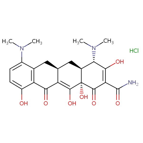 Minocycline Hydrochloride Sielc