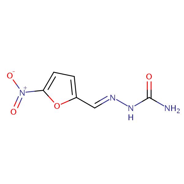 Nitrofurazone structural formula