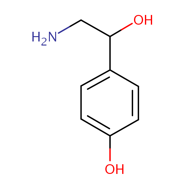 Octopamine structural formula