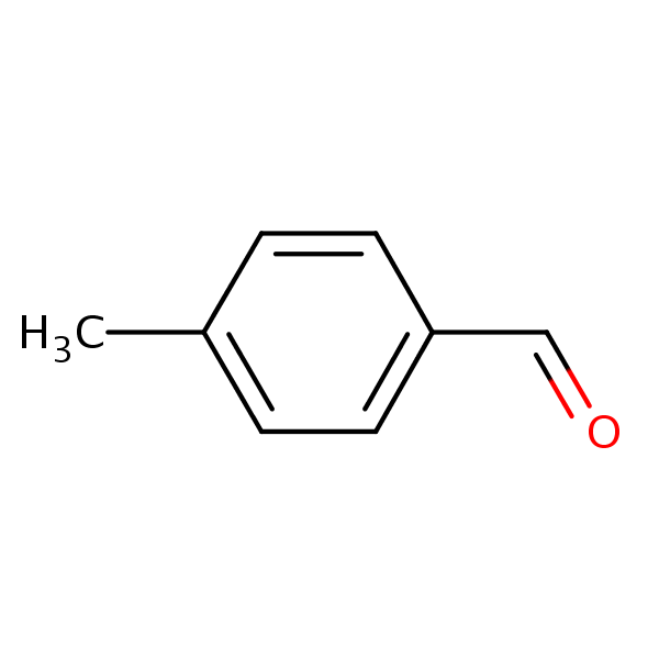 p-Tolualdehyde structural formula
